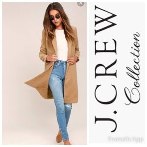 J Crew Coat Size M
